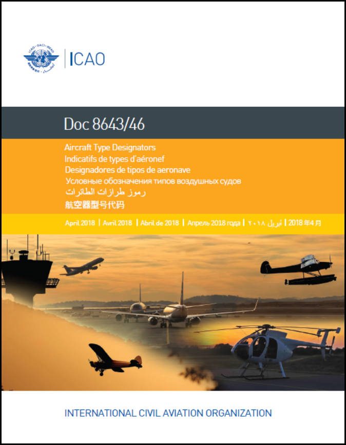 ICAO DOC 8643 - photo#24
