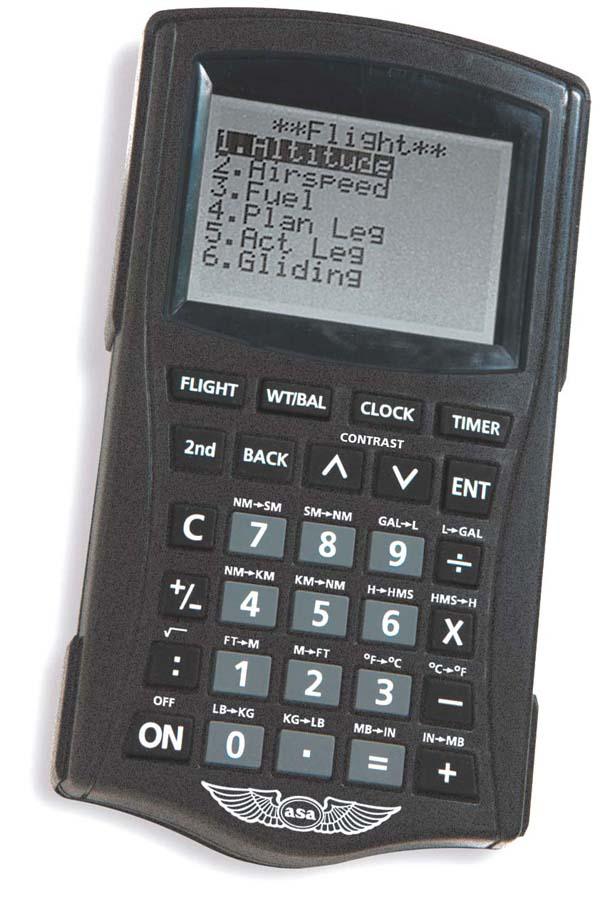 Asa Cx 2 Pathfinder Flight Calculator