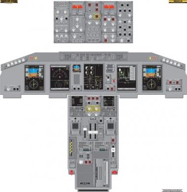 F 22 Cockpit Layout 190 Cockpit Related Keywords & Suggestions - Embraer 190 Cockpit ...