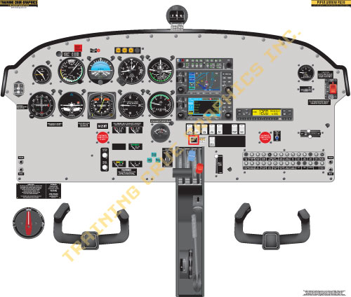 Piper PA28 Arrow lr piper pa28 arrow cockpit poster  at mifinder.co
