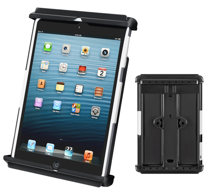 tab tite holder for the ipad mini with light duty case. Black Bedroom Furniture Sets. Home Design Ideas