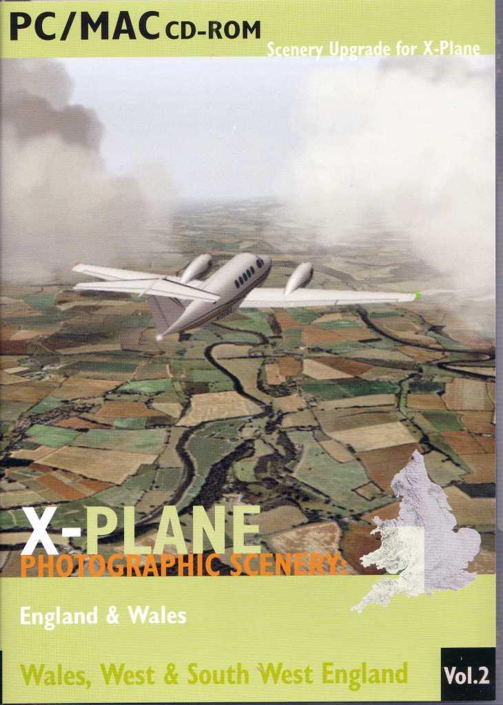 X-Plane scenery Disk 2