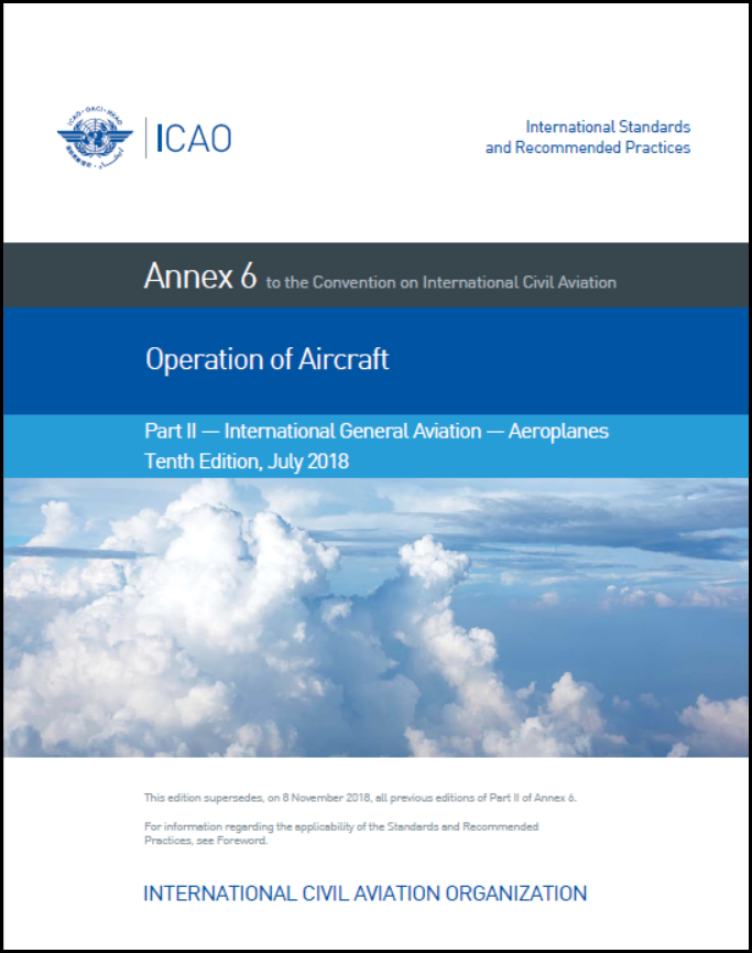 Icao annexes 1 to 19. Detailed information and pdf download.